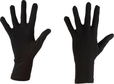 Icebreaker Apex Glove Liners L - Black - Icebreaker Hats/Gloves/Scarves