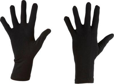 Icebreaker Apex Glove Liners M - Black - Icebreaker Hats/Gloves/Scarves