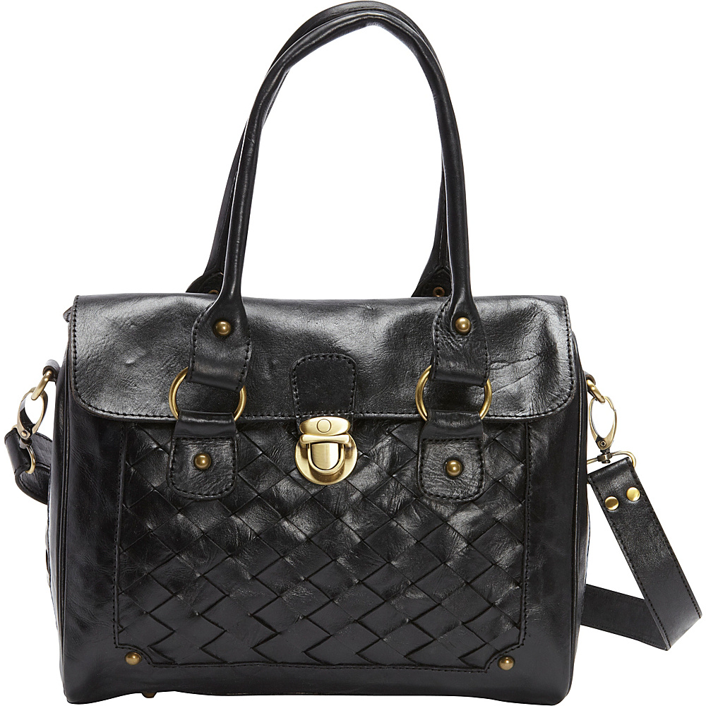 TLC you Megan Satchel Black TLC you Leather Handbags