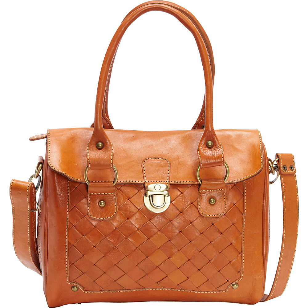TLC you Megan Satchel Cognac TLC you Leather Handbags
