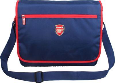 Image of Arsenal Team Messenger Bag Blue - Arsenal Team Messenger Bags