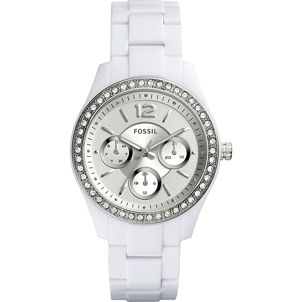 Fossil Stella Multifunction Resin Watch White - Fossil Watches - Fashion Accessories, Watches