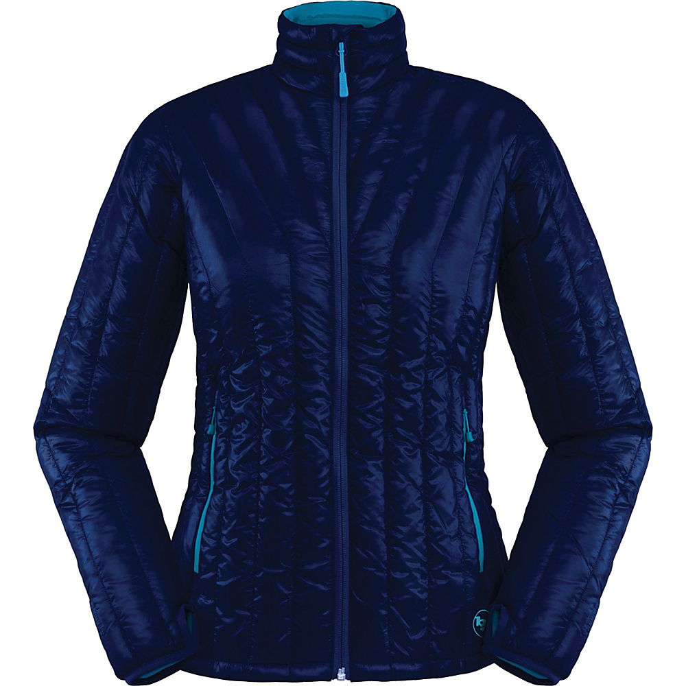 Big Agnes Womens Hole in the Wall Jacket S Estate Blue Blue Topaz Big Agnes Women s Apparel