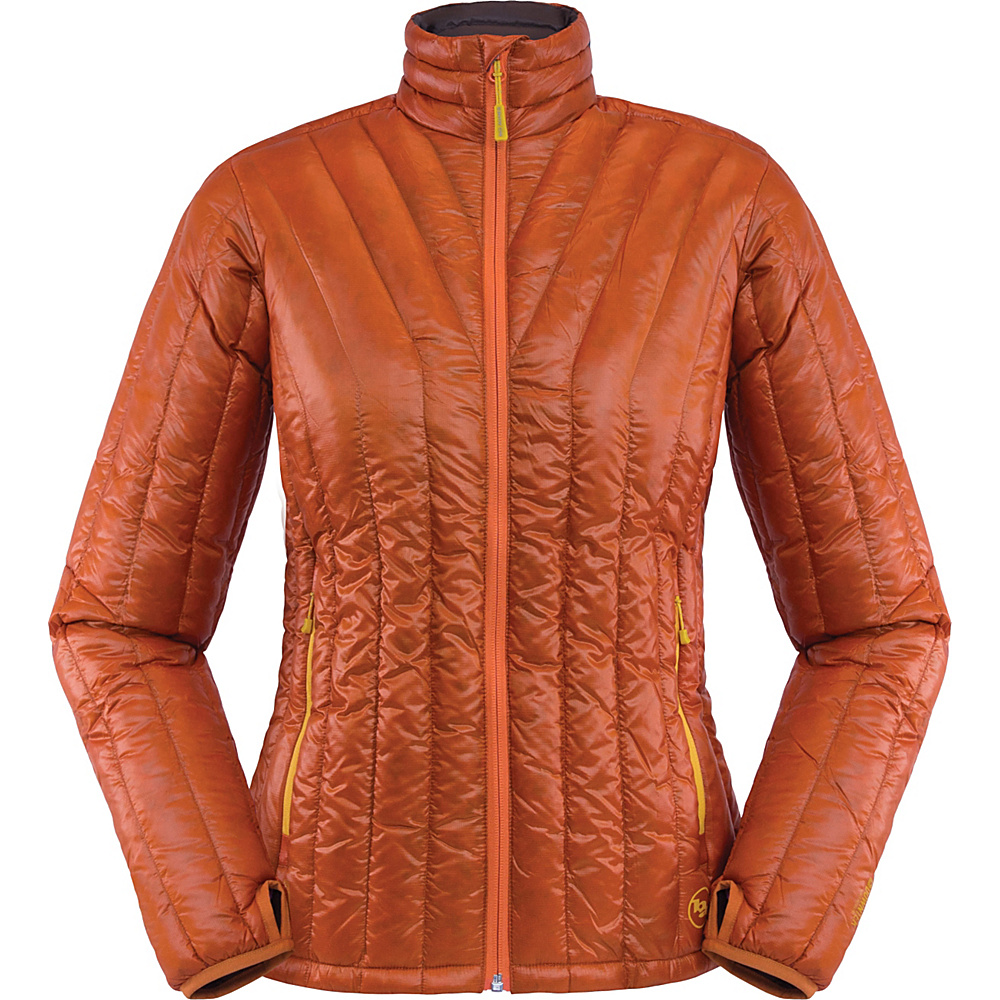 Big Agnes Womens Hole in the Wall Jacket S Pumpkin Chestnut Big Agnes Women s Apparel