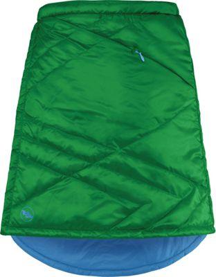 Big Agnes Womens Columbine Skirt S - Emerald/Blue Topaz - Big Agnes Men's Apparel