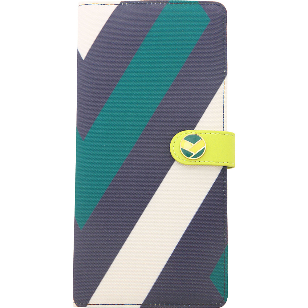 Flight 001 Stewardess Document Holder Celery Flight 001 Travel Wallets