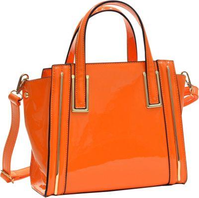 Orange Satchel Handbag | Luggage And Suitcases