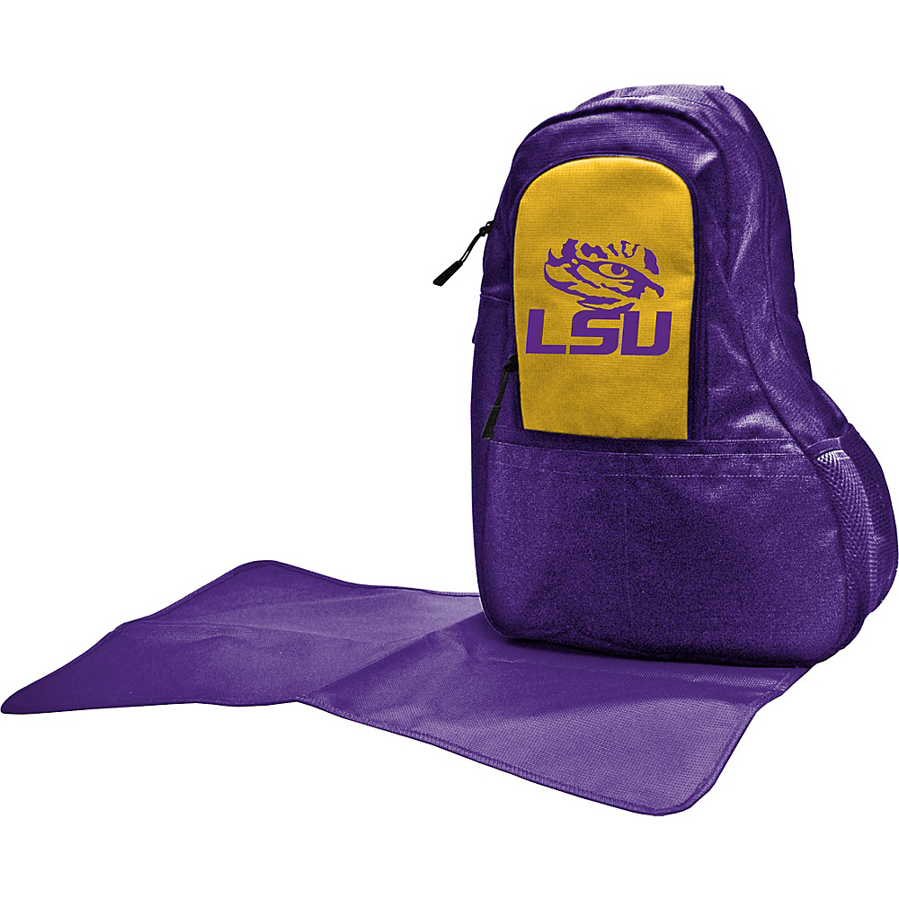 Lil Fan SEC Teams Sling Bag Louisiana State University Lil Fan Diaper Bags Accessories