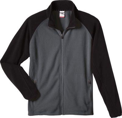 Colorado Clothing Mens Steamboat Jacket S - City Grey/Black - Colorado Clothing Men's Apparel 10490716