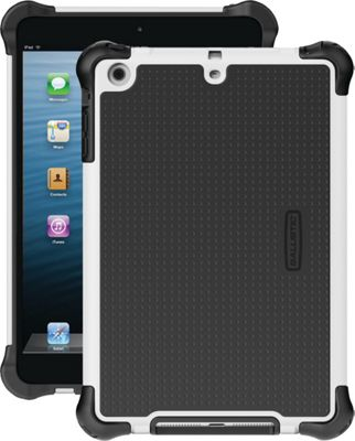 Image of Ballistic iPad Mini With Retina Display/iPad Mini Tough Jacket Case White/Black - Ballistic Laptop Sleeves
