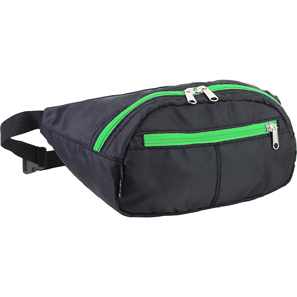 Eastsport Absolute Sport Belt Bag Lime Eastsport Waist Packs