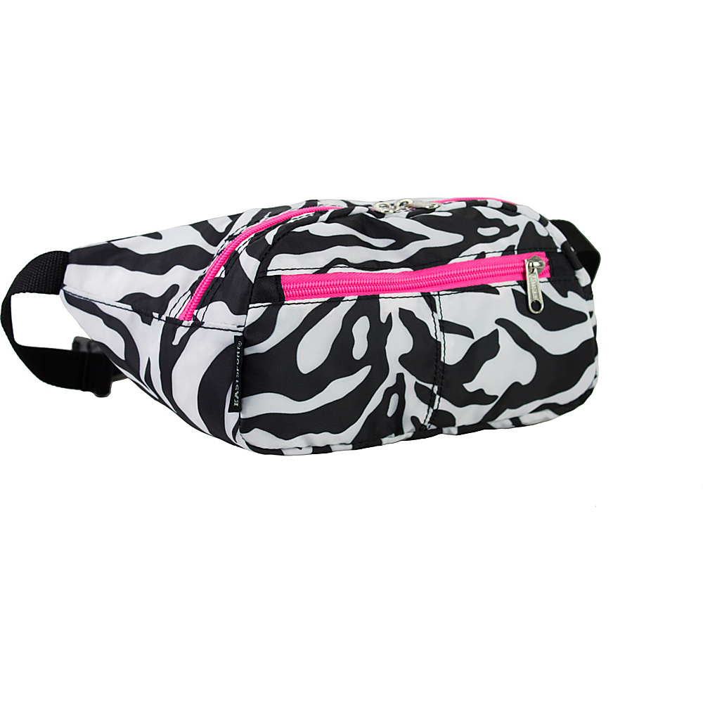 Eastsport Absolute Sport Belt Bag Zebra Eastsport Waist Packs