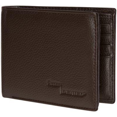 Access Denied Men's RFID Blocking Wallet Leather 11 Slots Flip ID Coffee Pebble - Access Denied Men's Wallets