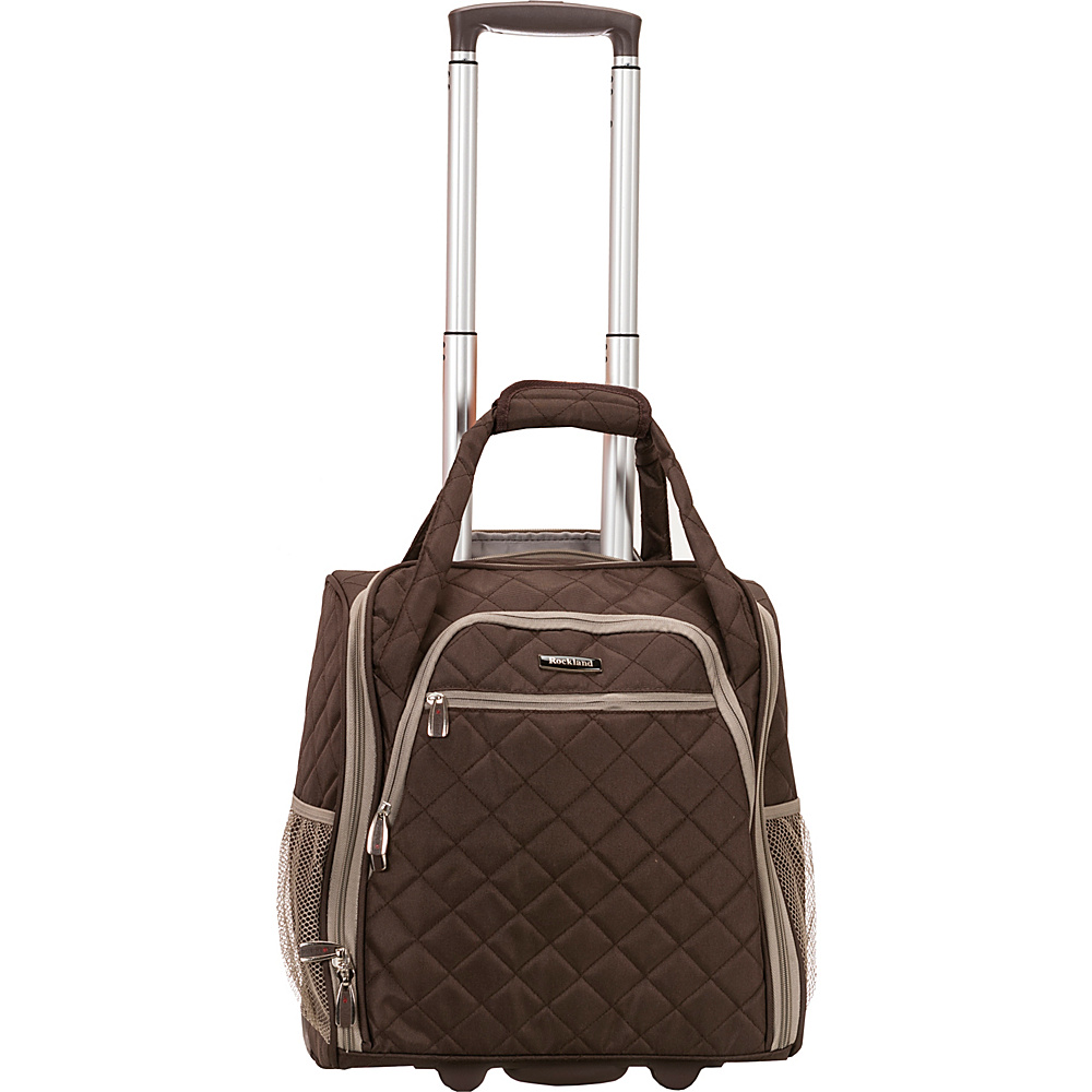 rockland luggage wheeled underseat carry on 7 colors. Black Bedroom Furniture Sets. Home Design Ideas