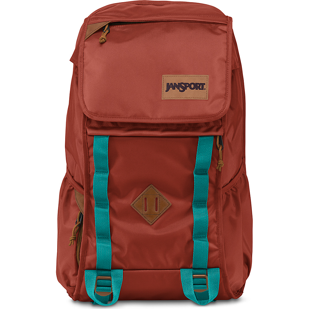 JanSport Iron Sight Laptop Backpack Burnt Henna Ballistic Nylon - JanSport Laptop Backpacks - Backpacks, Laptop Backpacks
