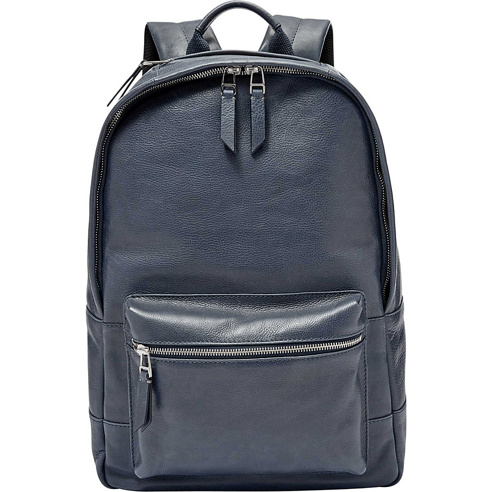 Fossil Estate Backpack Navy - Fossil Business & Laptop Backpacks - Backpacks, Business & Laptop Backpacks