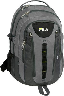 Fila Pinnacle Tablet and Laptop Backpack Grey - Fila Business & Laptop Backpacks