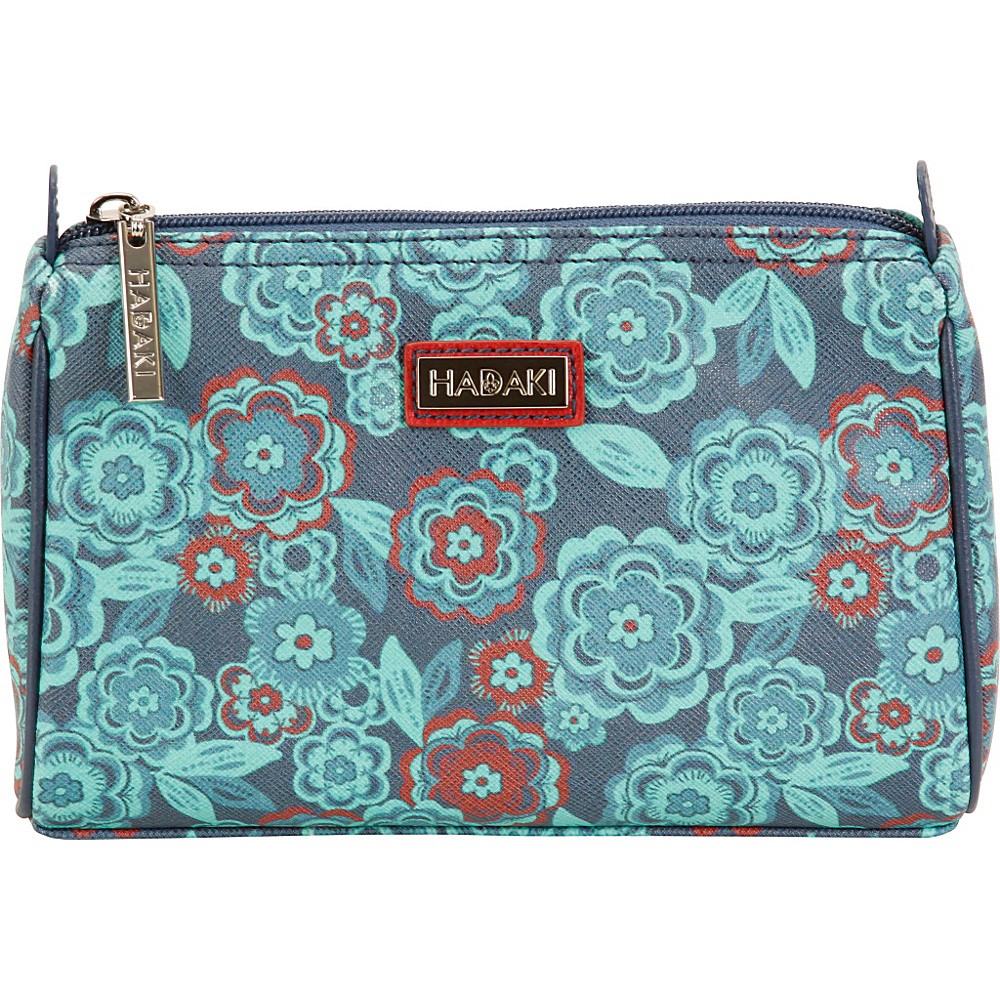 Hadaki Vegan Leather Scoop Pod Floral - Hadaki Toiletry Kits - Travel Accessories, Toiletry Kits