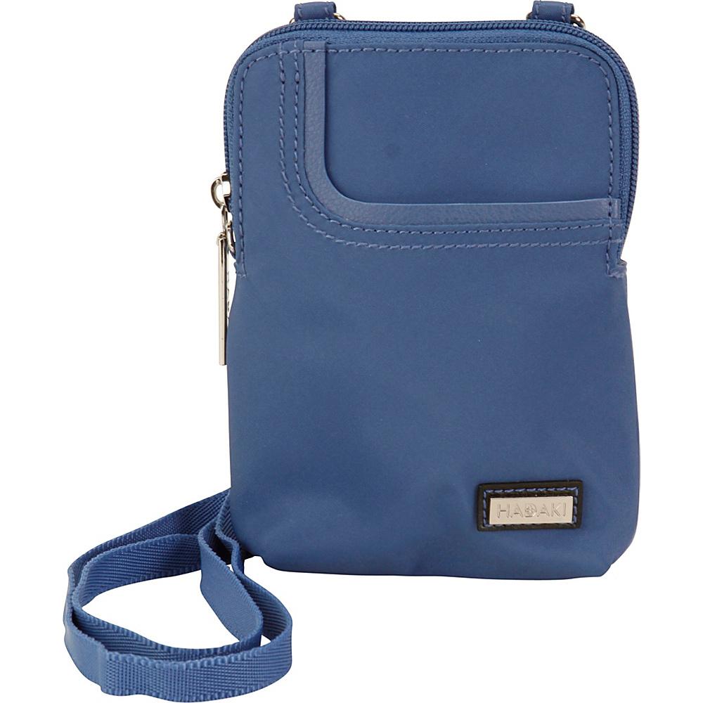 Hadaki Mobile Crossbody Bijou Blue - Hadaki Fabric Handbags - Handbags, Fabric Handbags