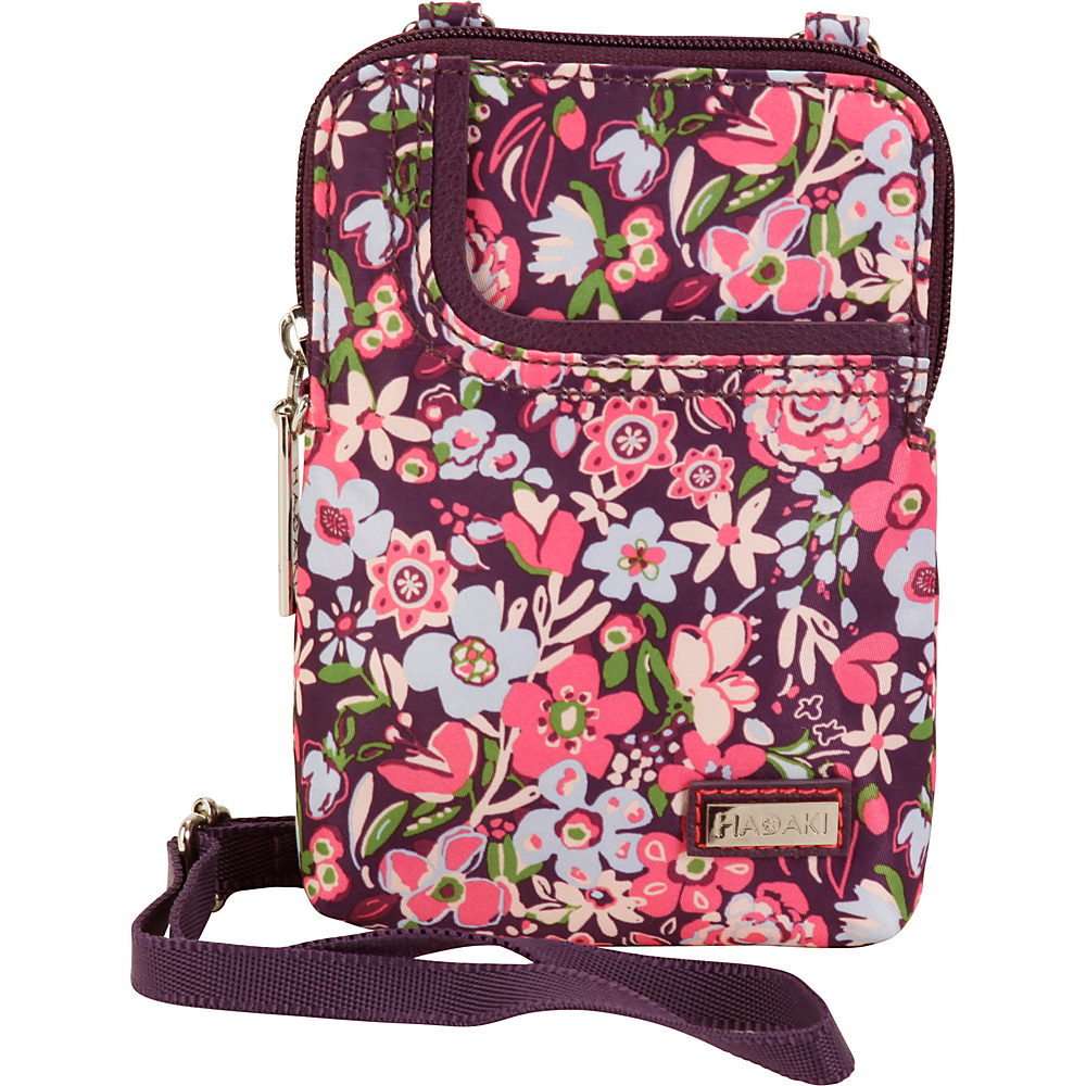 Hadaki Mobile Crossbody Blossoms - Hadaki Fabric Handbags - Handbags, Fabric Handbags