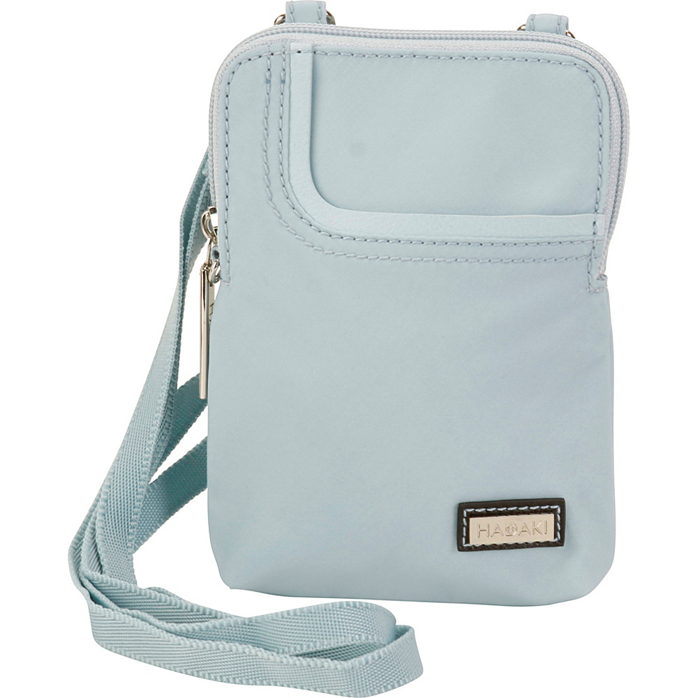 Hadaki Mobile Crossbody Gray - Hadaki Fabric Handbags - Handbags, Fabric Handbags