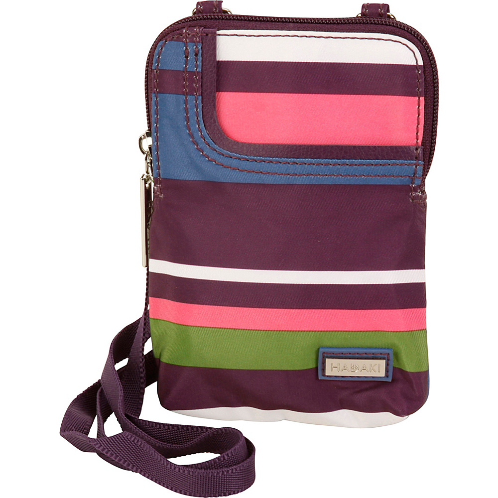 Hadaki Mobile Crossbody Stripes - Hadaki Fabric Handbags - Handbags, Fabric Handbags