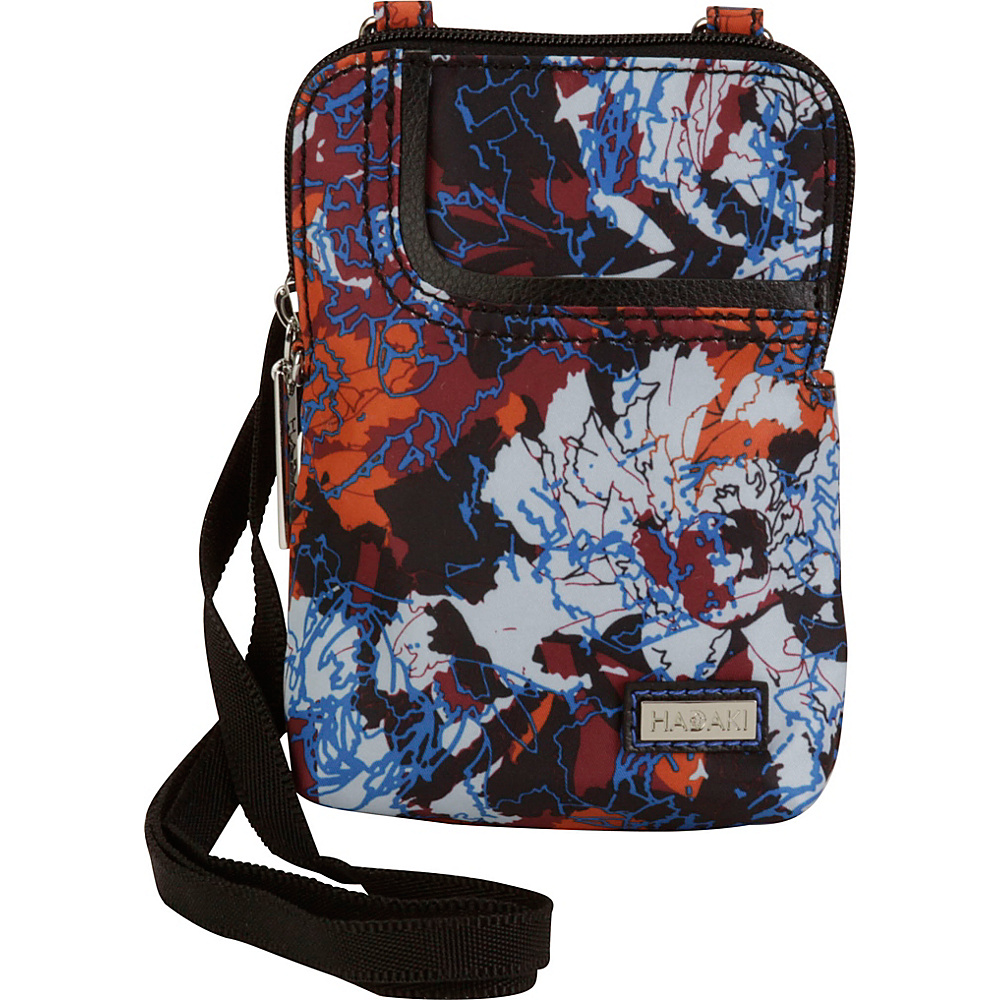 Hadaki Mobile Crossbody Watercolors - Hadaki Fabric Handbags - Handbags, Fabric Handbags