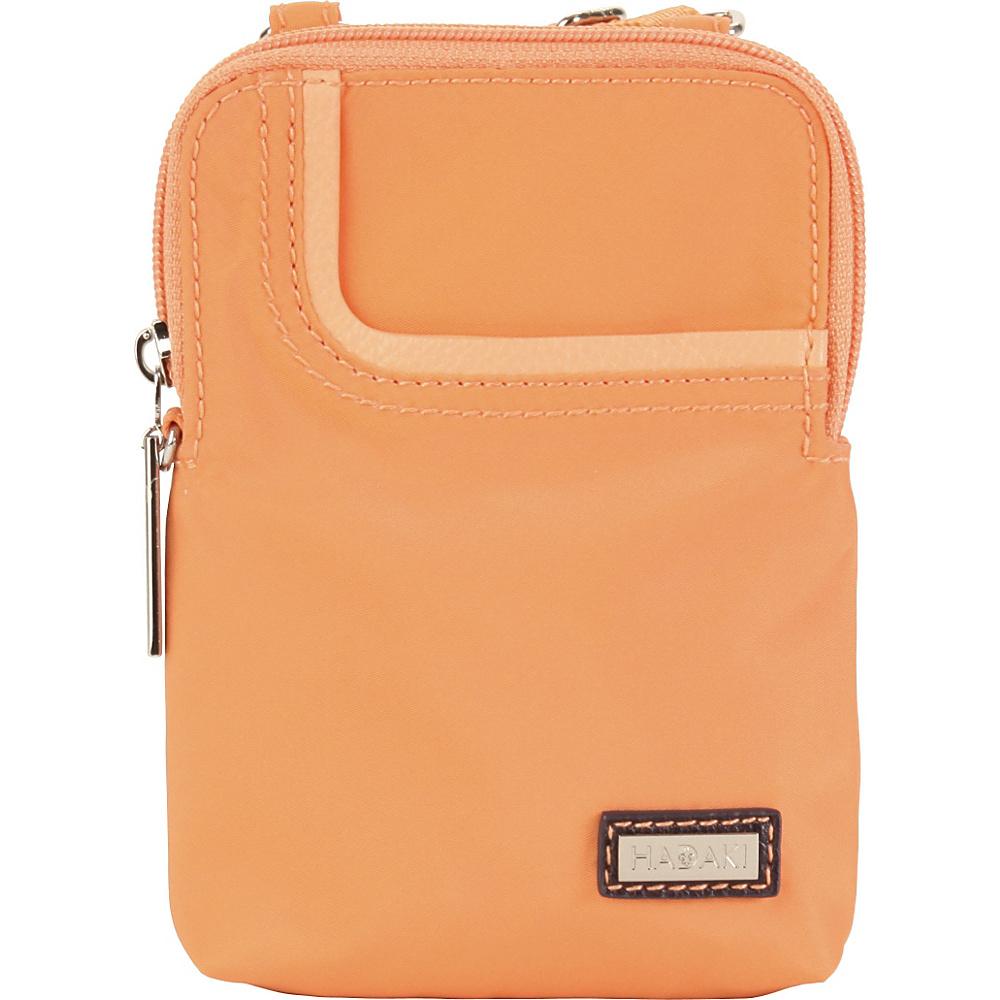 Hadaki Mobile Crossbody Melon Solid - Hadaki Fabric Handbags - Handbags, Fabric Handbags