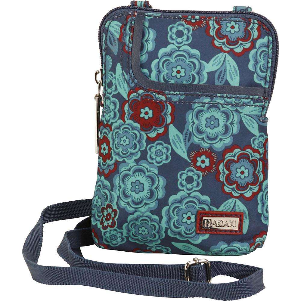 Hadaki Mobile Crossbody Floral - Hadaki Fabric Handbags - Handbags, Fabric Handbags