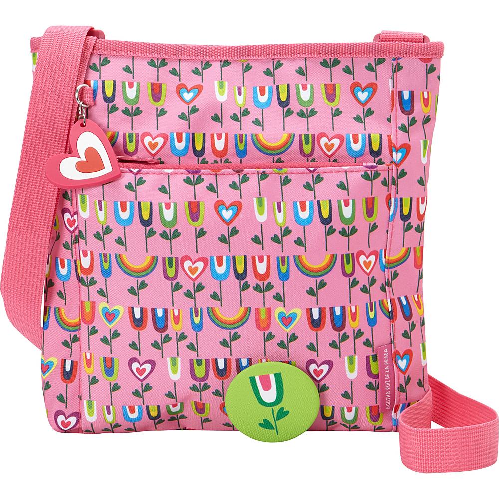 c81ad3e7b7 Miquelrius Agatha Garden Crossbody Bag Garden - Miquelrius Fabric Handbags