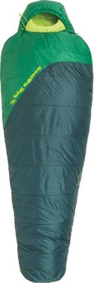 Big Agnes Husted 20 Synthetic Sleeping Bag Pine/Amazon - Regular Left - Big Agnes Outdoor Accessories
