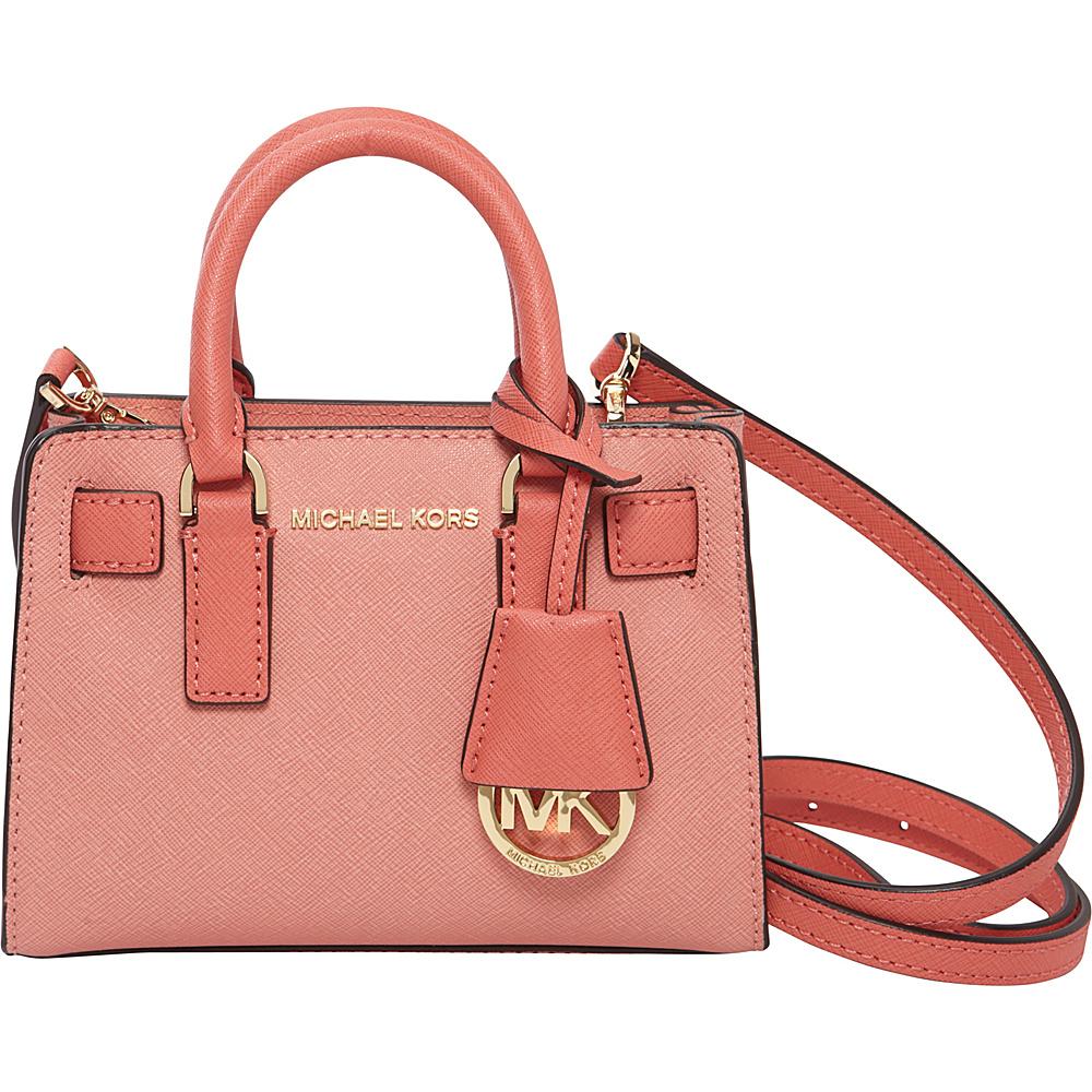 2f4362f20a42 MICHAEL Michael Kors Dillon Top Zip XS Crossbody Peach/Pink Grapefruit - MICHAEL  Michael Kors Designer Handbags - 10411992 by MICHAEL Michael Kors