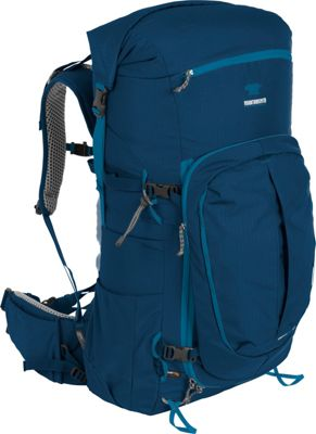 Mountainsmith Lariat 65 Hiking Backpack Moroccan Blue - Mountainsmith Day Hiking Backpacks
