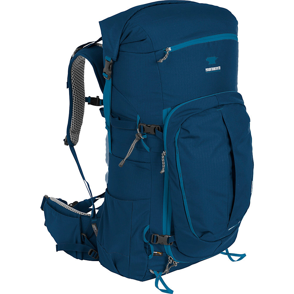Mountainsmith Lariat 65 Hiking Backpack Moroccan Blue Mountainsmith Day Hiking Backpacks