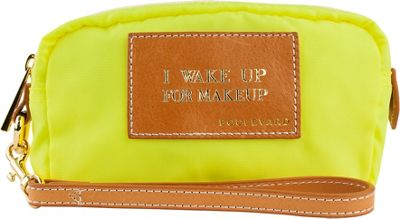 Boulevard I Wake Up for Makeup Cosmic Alpha Makeup Bag Neon Yellow - Boulevard Women's SLG Other