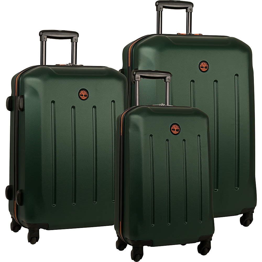 Timberland Gilmanton 3 Piece Luggage Set Deep Forest Timberland Luggage Sets