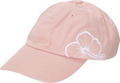 Caribbean Joe Accessories Hibiscus Cap One Size - Coral - Caribbean Joe Accessories Hats/Gloves/Scarves