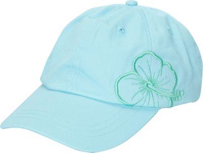 Caribbean Joe Accessories Hibiscus Cap One Size - Blue - Caribbean Joe Accessories Hats/Gloves/Scarves