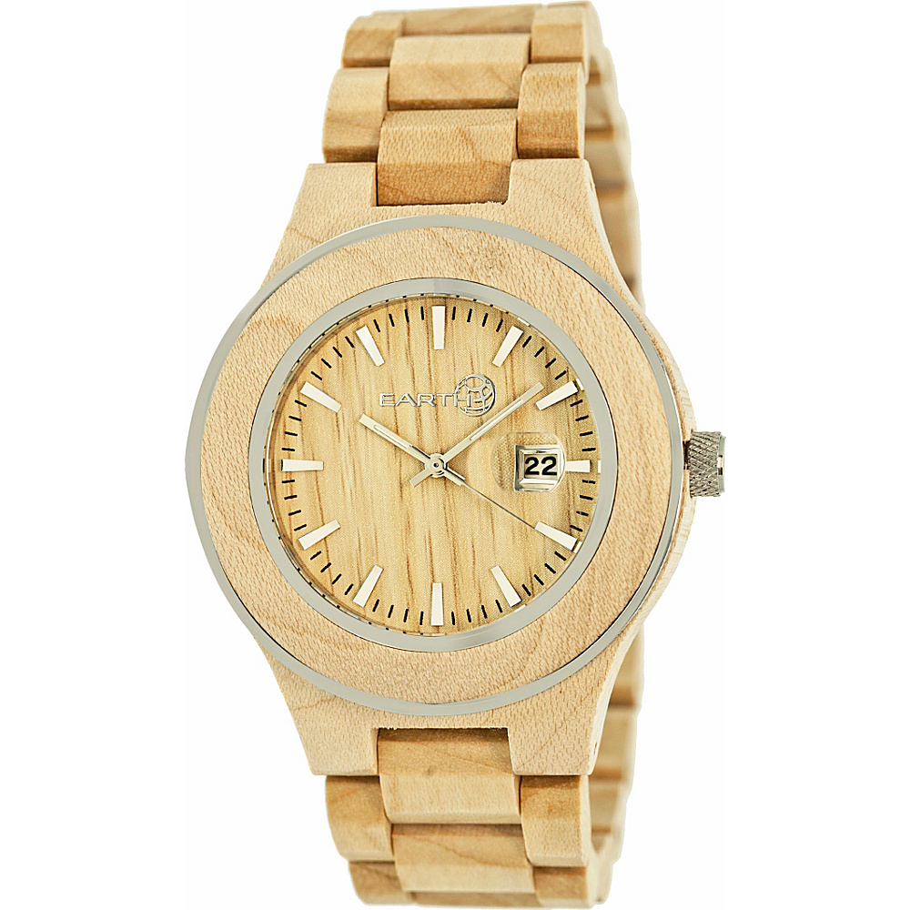 Earth Wood Cherokee Wood Unisex Watch Khaki Tan Earth Wood Watches