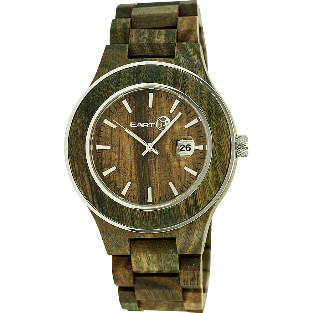 Earth Wood Cherokee Wood Unisex Watch Olive Earth Wood Watches