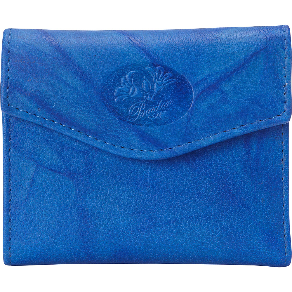 Buxton Heiress Pik-Me-Up Mini-Trifold Strong Blue - Buxton Womens Wallets - Women's SLG, Women's Wallets