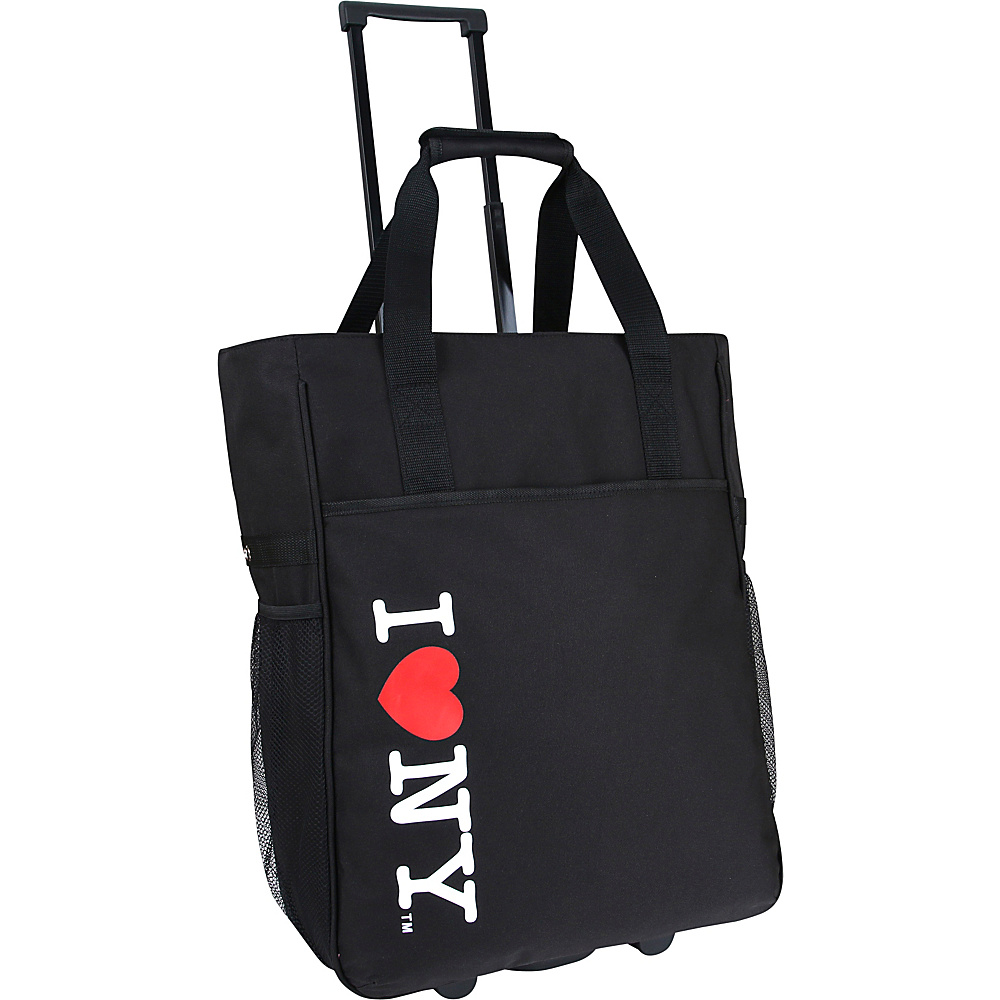 J World New York ILNY Rolling Tote Black - J World New York Luggage Totes and Satchels - Luggage, Luggage Totes and Satchels