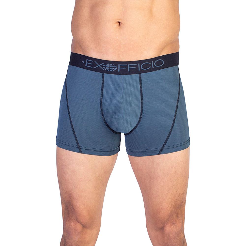 ExOfficio Give-N-Go Sport Mesh 3 Boxer Brief XL - Phantom - ExOfficio Mens Apparel - Apparel & Footwear, Men's Apparel