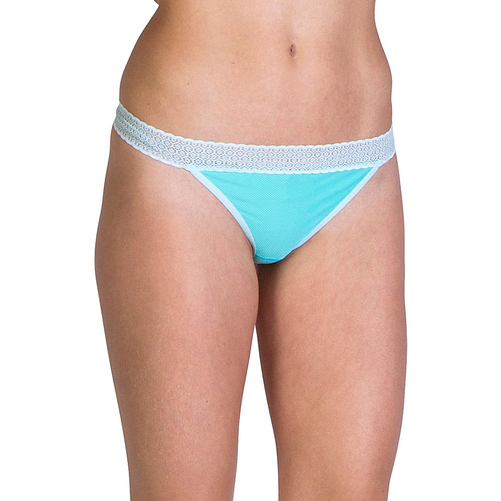 ExOfficio Give-N-Go Lacy Thong S - Isla - ExOfficio Womens Apparel - Apparel & Footwear, Women's Apparel