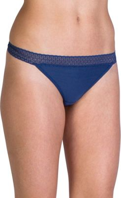 ExOfficio Give-N-Go Lacy Thong L - Indigo - ExOfficio Women's Apparel 10416714
