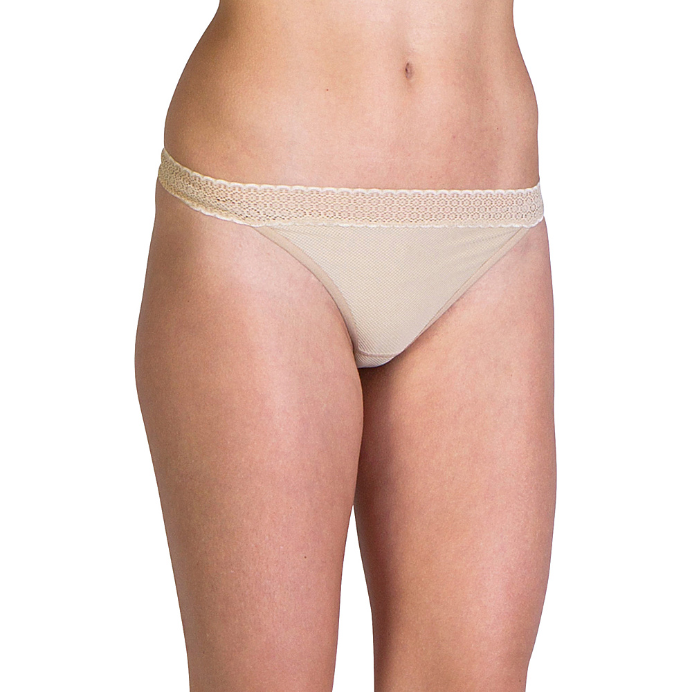 ExOfficio Give-N-Go Lacy Thong XS - Nude - ExOfficio Womens Apparel - Apparel & Footwear, Women's Apparel