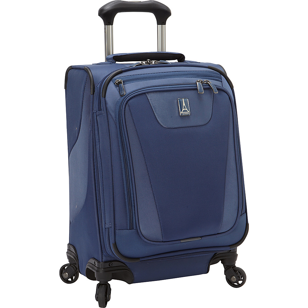 Travelpro Maxlite 4 International Expandable Carry On Spinner Blue Travelpro Softside Carry On
