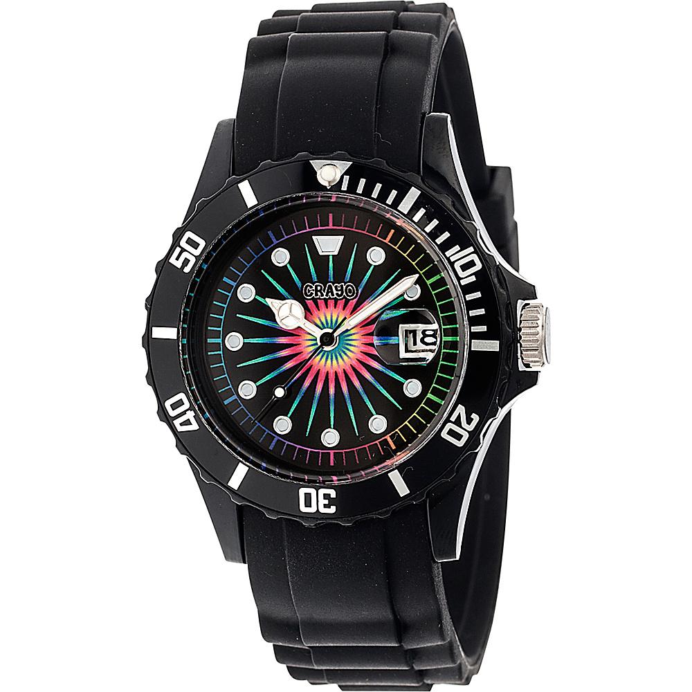 Crayo Shrine Unisex Watch Black Crayo Watches