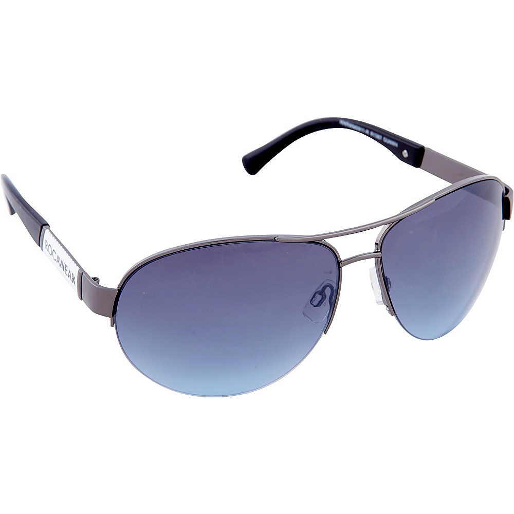 Rocawear Sunwear R1387 Sunglasses Gun White Rocawear Sunwear Sunglasses