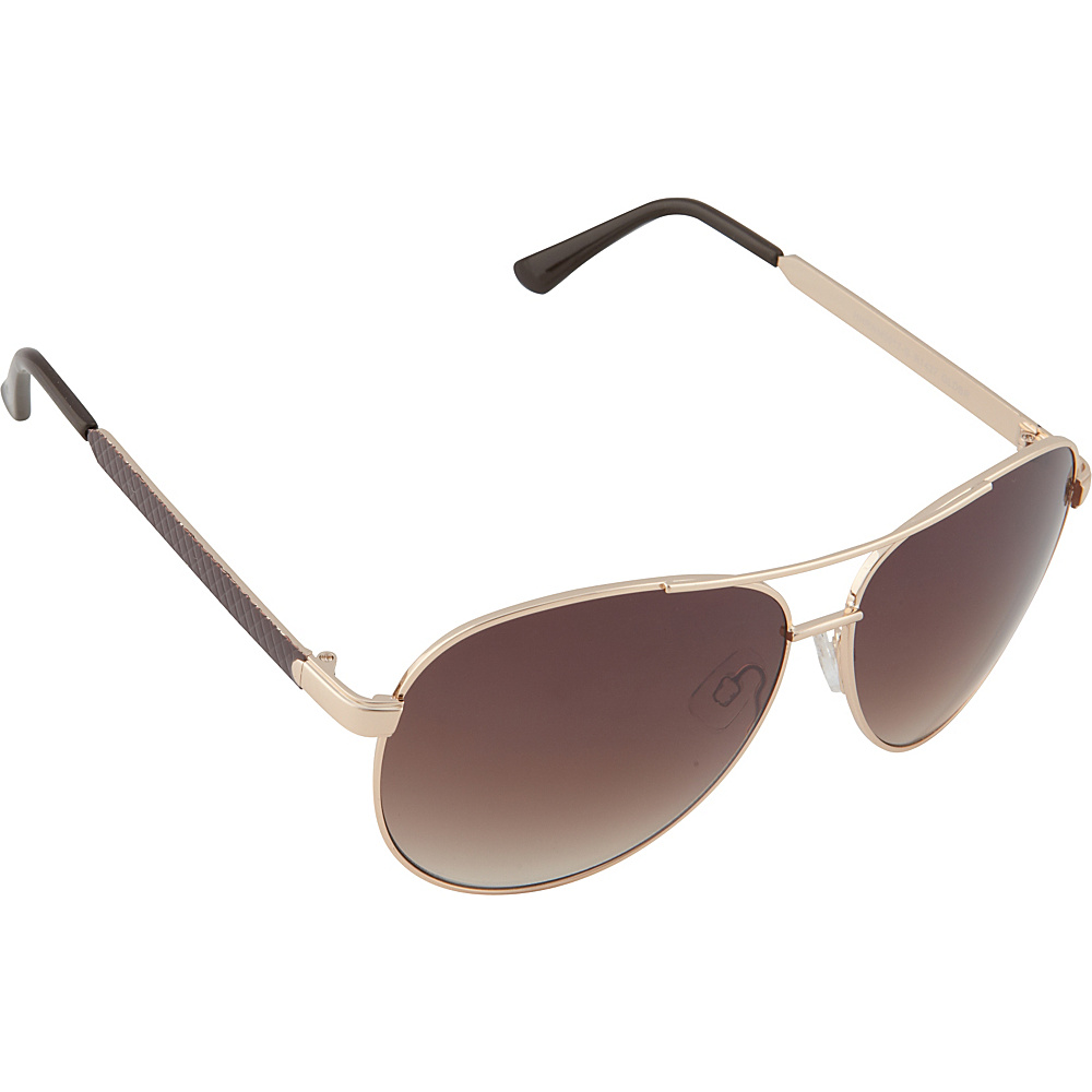 Rocawear Sunwear R1427 Men's Sunglasses Gold Brown - Rocawear Sunwear Sunglasses